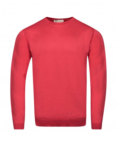 PULL COTON HOMME COL ROND...