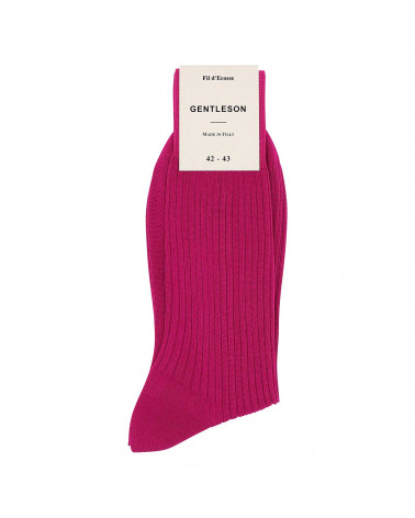 CHAUSSETTES FUCHSIA HOMME...