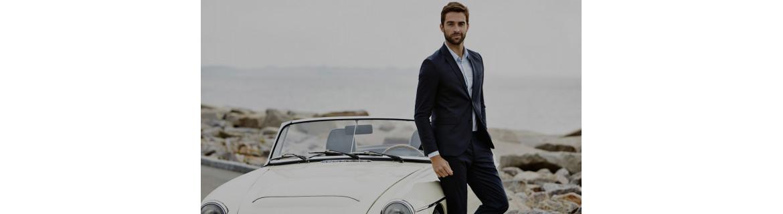 Chemise personnalisée brodée de luxe pour homme → GENTLESON