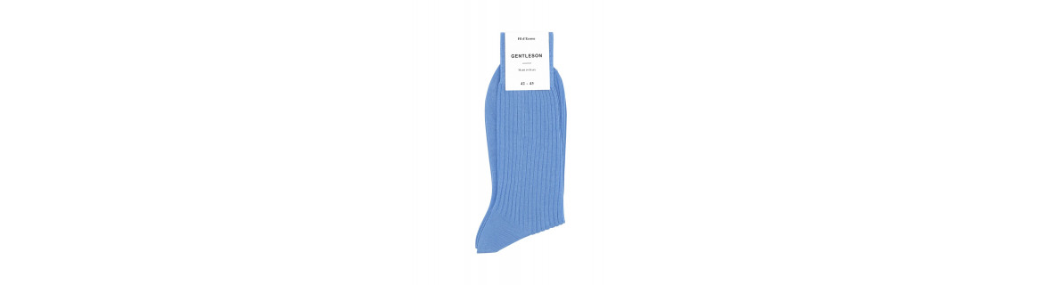 Chaussettes homme Luxe - Fil d'Ecosse - Fantaisie → GENTLESON